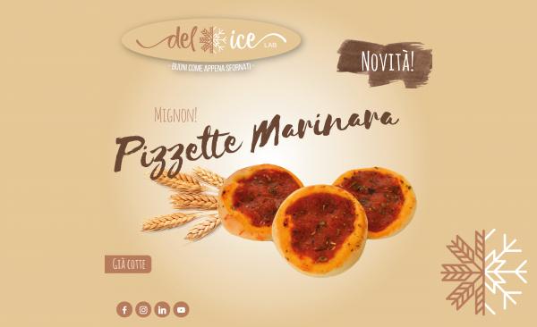 Novità | Pizzetta | Marinara | Delice Lab
