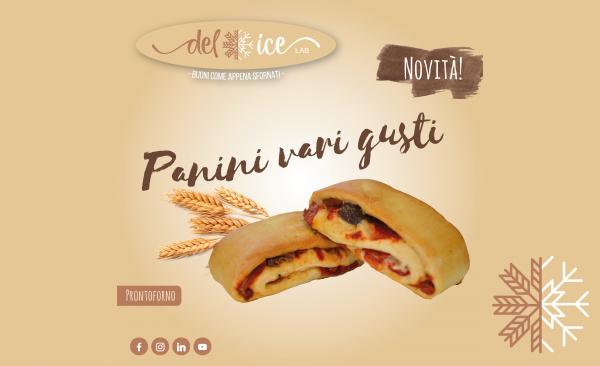 Novità | Panini Prontoforno vari gusti | Delice Lab