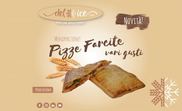 Novità | Pizze farcite (monoporzione) | Delice Lab
